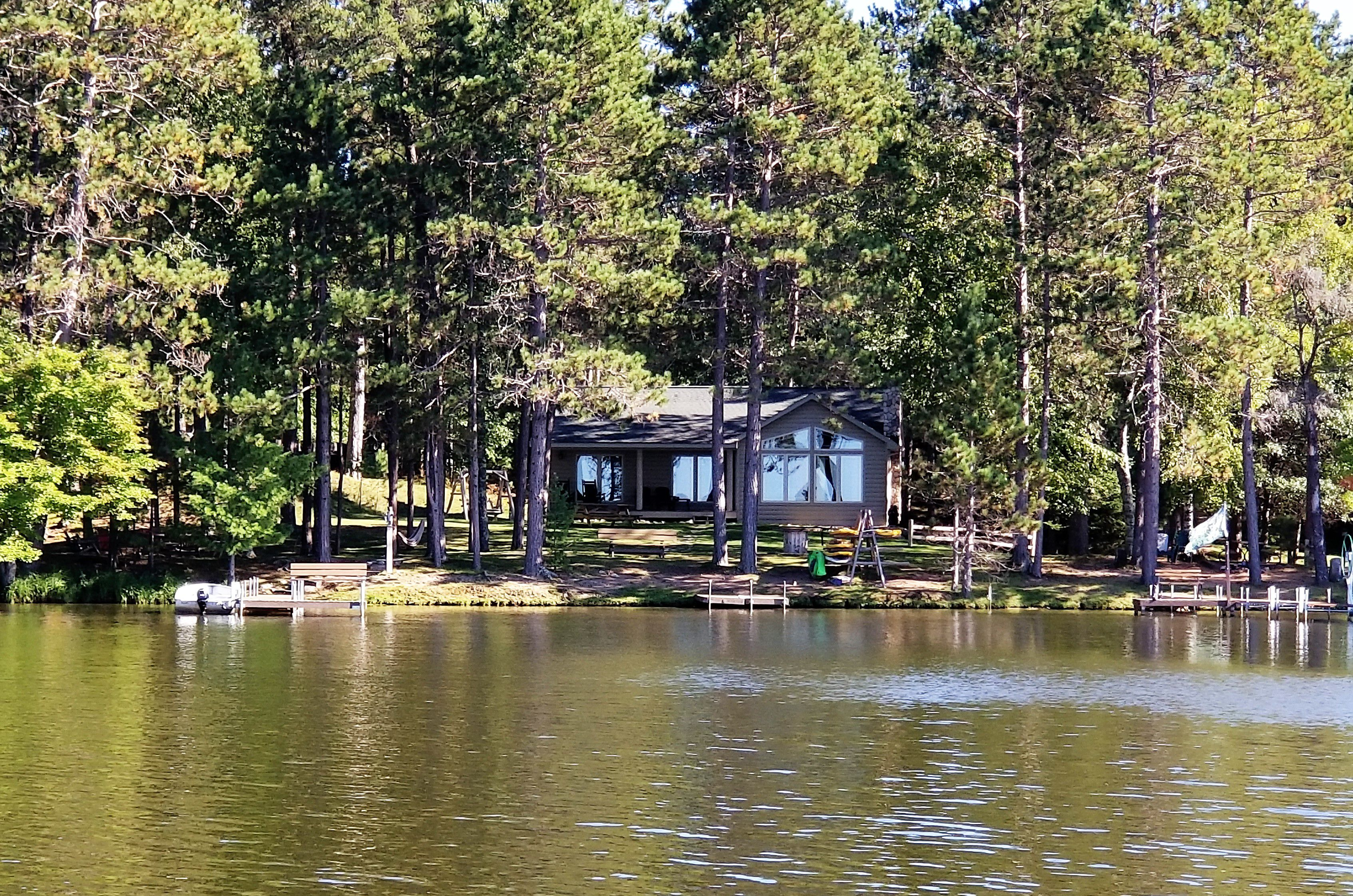 Lakeside living at it's very best!